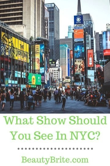 What Show Should You See In NYC?