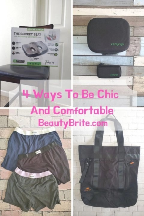 4 Ways To Be Chic And Comfortable