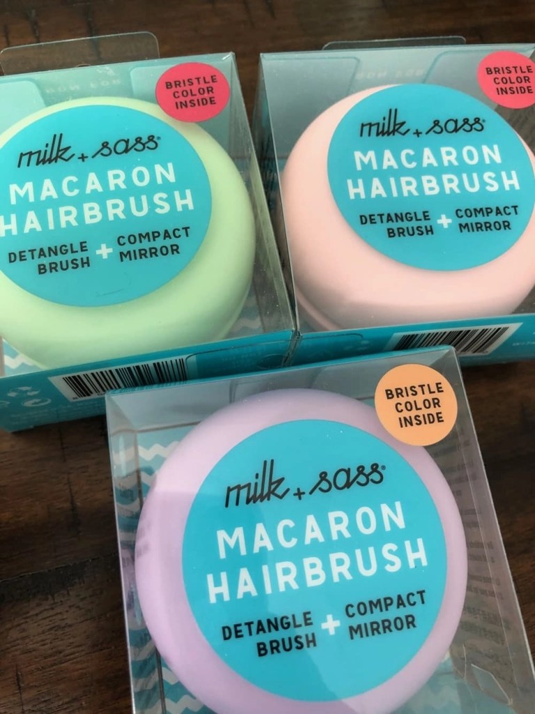 main image for Milk + Sass Macaron Hairbrush