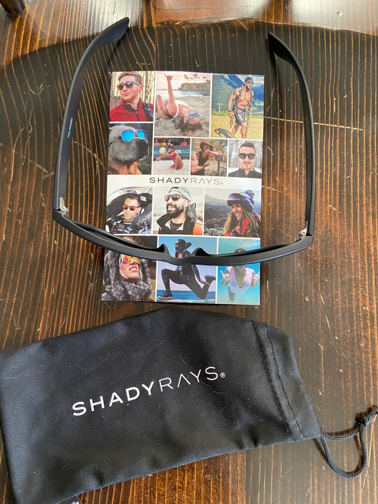 Shady Rays Sunglasses with Protective Pouch