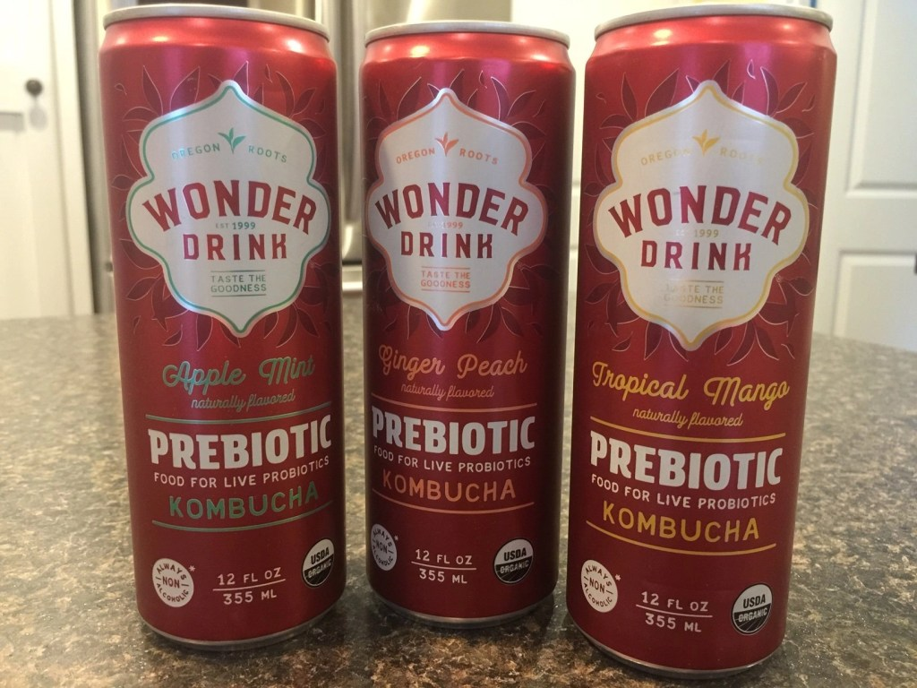 Small Changes To Make For A Healthier Life - Wonder Drink Prebiotic Kombucha - Om Mushroom SuperDrink Sticks - Alter Eco Chocolate - Nutiva Organic Coconut Oil