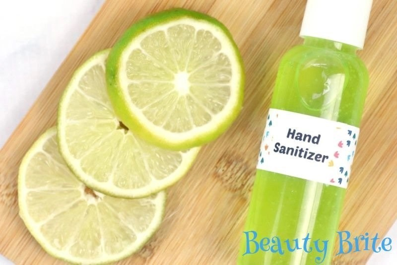 DIY Moisturizing Hand Sanitizer Gel - social media