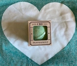 The Hemp Division Peppermint Bath Ball