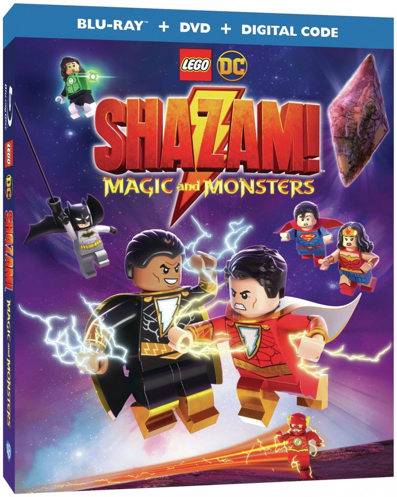 Week 1- Superheros Warner Bros and BeautyBrite are celebrating the release of LEGO® DC: Shazam! Magic and Monsters- is now available to own on Digital, Blu-ray & DVD.