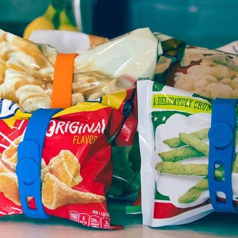 Packbands To Keep Snacks Fresh - Photo Credit Packbands