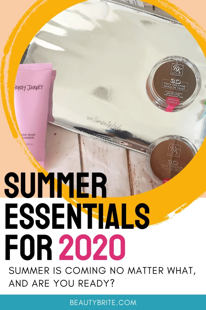 Summer Essentials for 2020