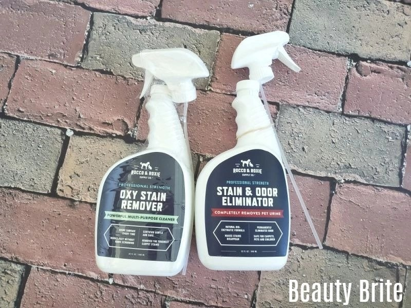 Oxy Stain Remover and Stain and Odor Eliminator