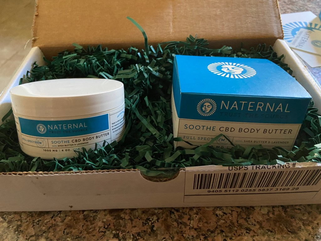 Naternal Soothe CBD Body Butter