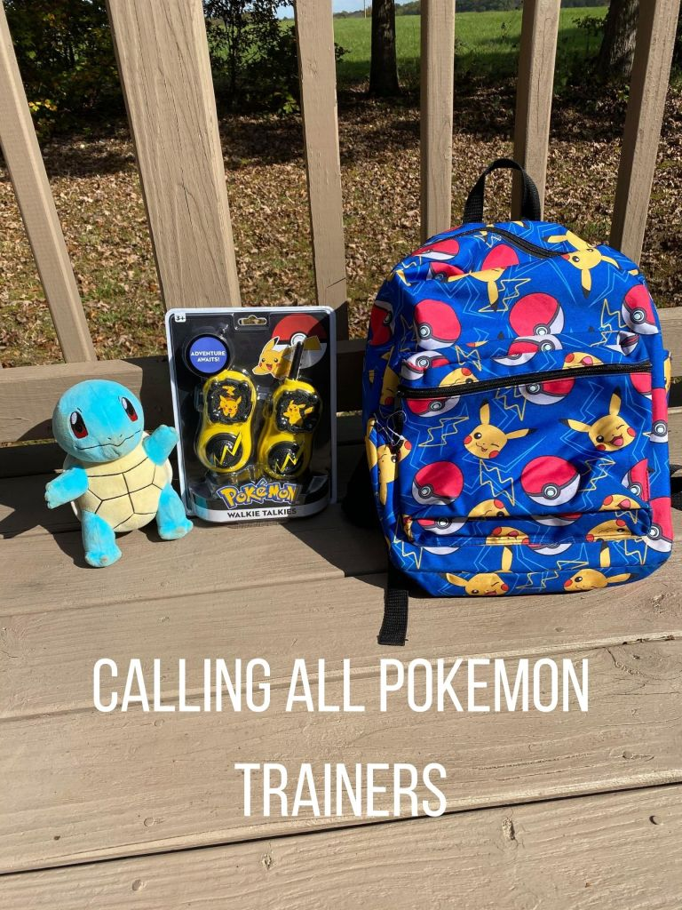 Calling all Pokemon Trainers