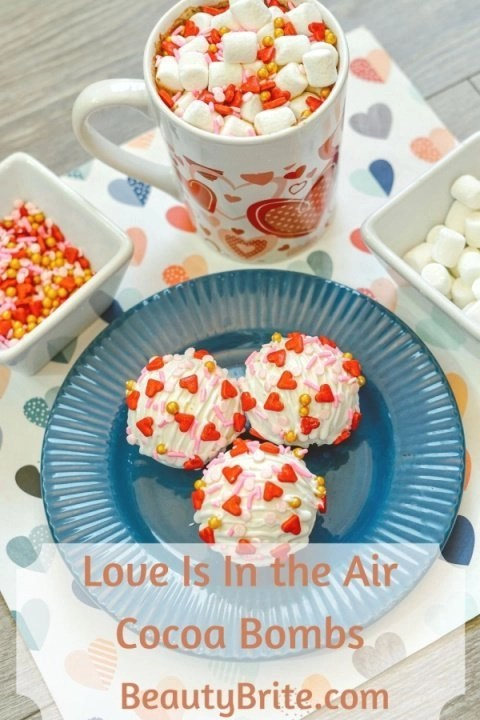 Love Is In the Air Cocoa Bombs