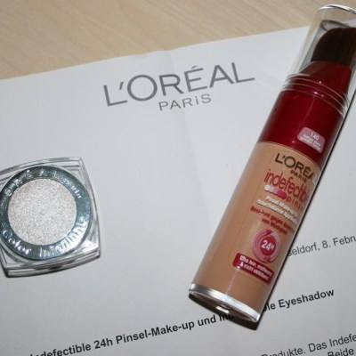 [Review] L'Oreal Indefectible 24H Pinsel-Make-up