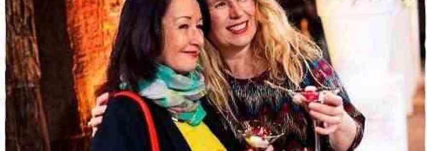 Debbie en Babs bloemenevent