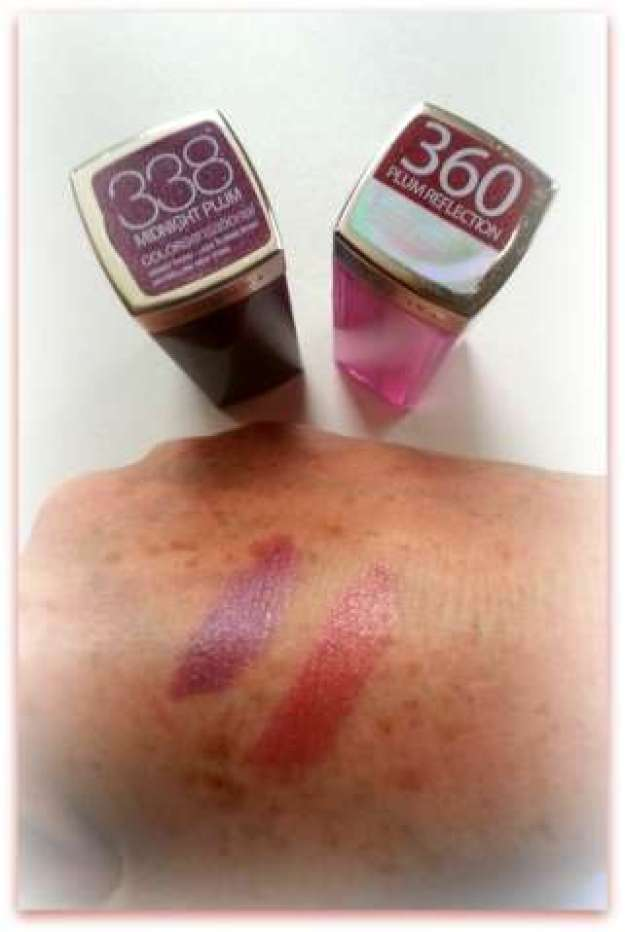 Maybelline swatch