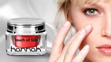 hannah touch of silk littekens