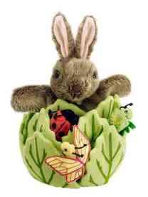 Handpop konijn - The Puppet Company