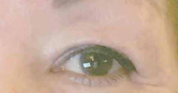 eyeliner overhangende oogleden