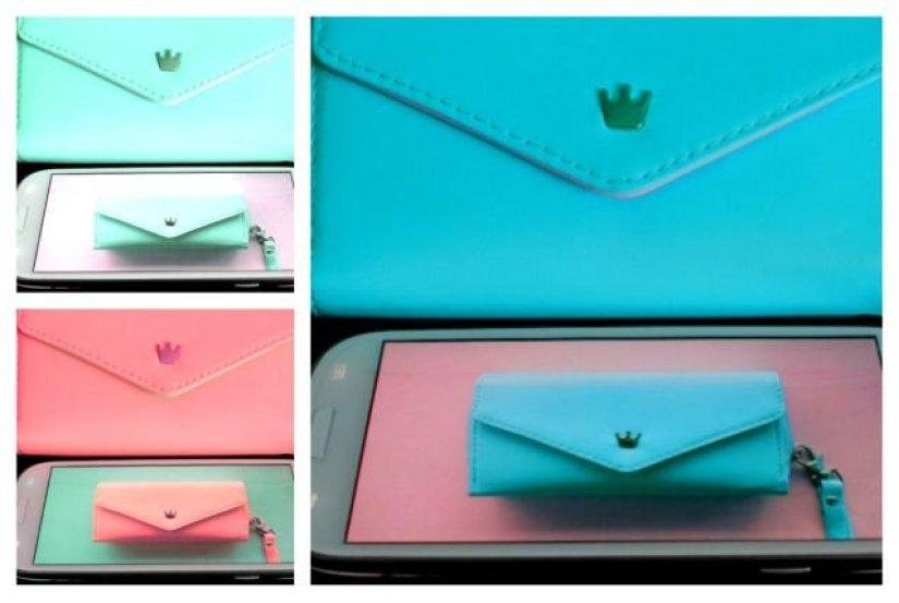 collage wallet case