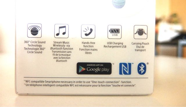 Sony wireless speaker