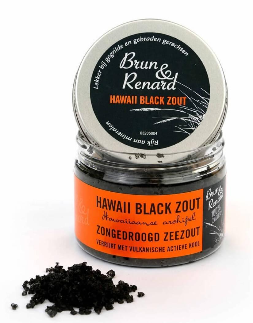 Brun & Renard Hawaii Black Zout