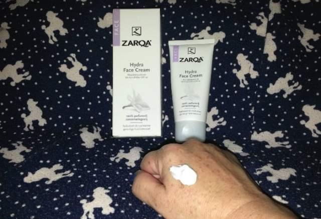 zarqa hydra face cream