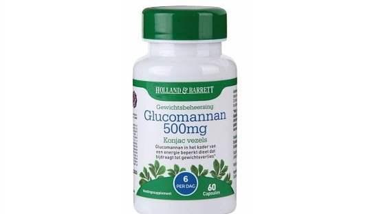 Holland & Barrett Glucomannan 500mg €19,99