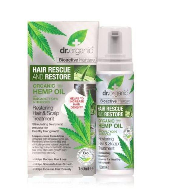 Dr Organic Hemp Hair Mousse Front