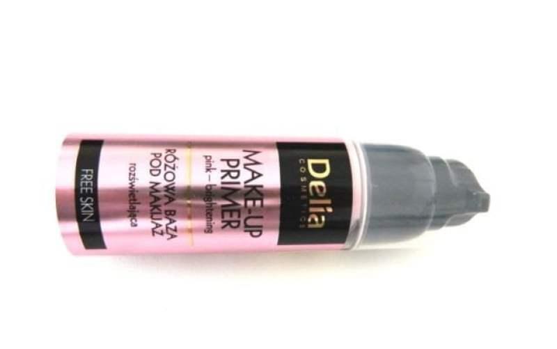 delia makeup primer pink