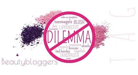 Beautybloggers Dilemma Tag en win! (gesloten) 7 beautybloggers Beautybloggers Dilemma Tag en win! (gesloten) Win!