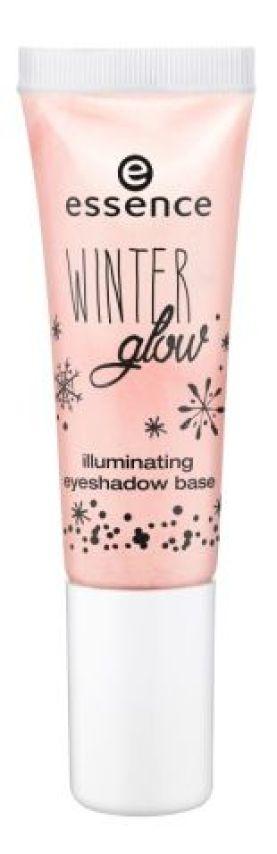 essence winter glow illuminating eyeshadow base