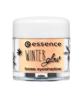 essence winter glow loose eyeshadow