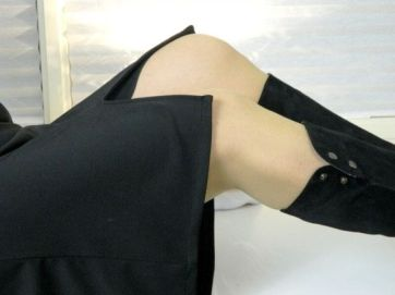 split voor jurk