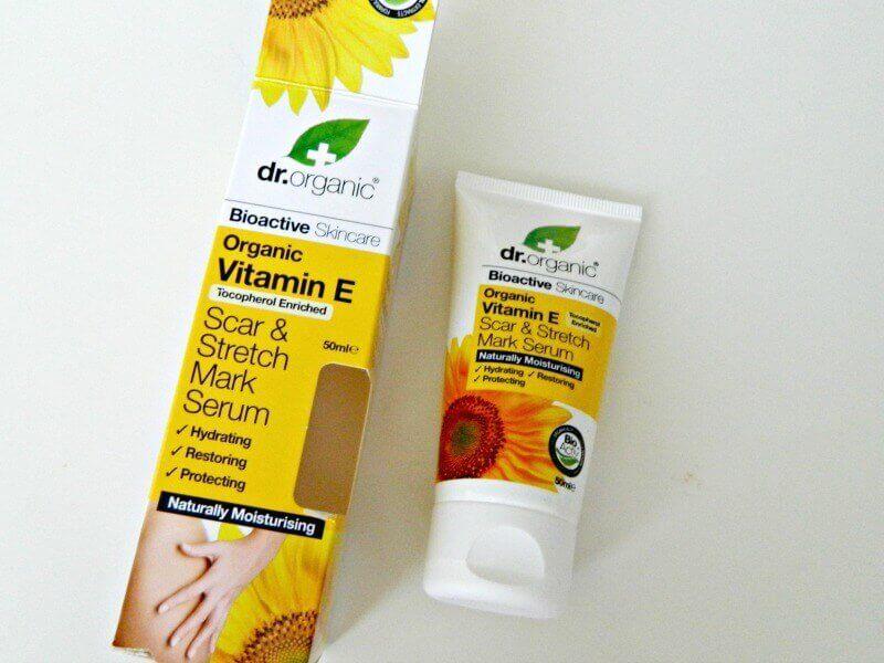 dr organic scar and stretchmark serum