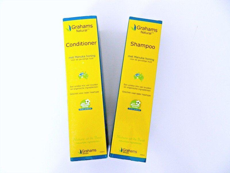 graham shampoo en conditioner