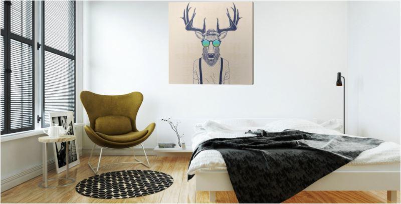 slaapkamer coole hert