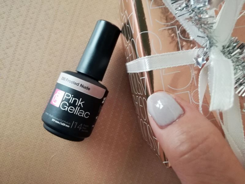 Pink Gellac frosted nude