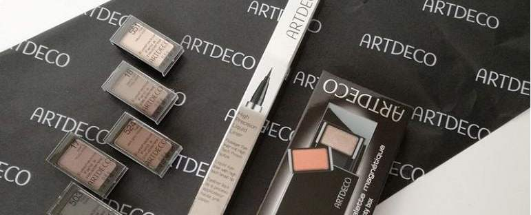 artdeco eyeshadows magnetisch en eyeliner