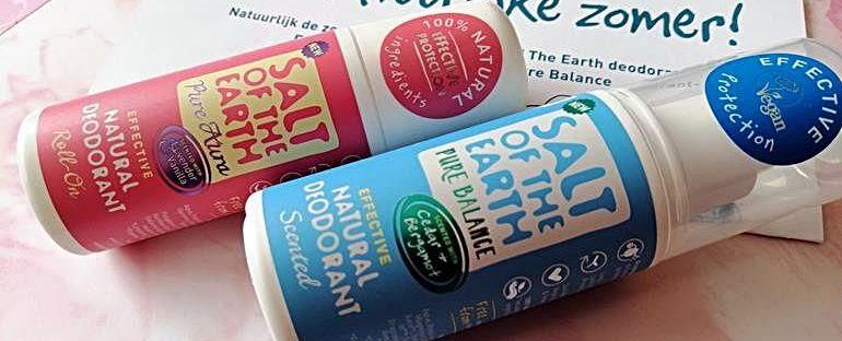 Natuurlijk de zomer tegemoet met Salt Of The Earth deodorant: Familie wordt uitgebreid met Pure Balance 9 salt of the earth Natuurlijk de zomer tegemoet met Salt Of The Earth deodorant: Familie wordt uitgebreid met Pure Balance