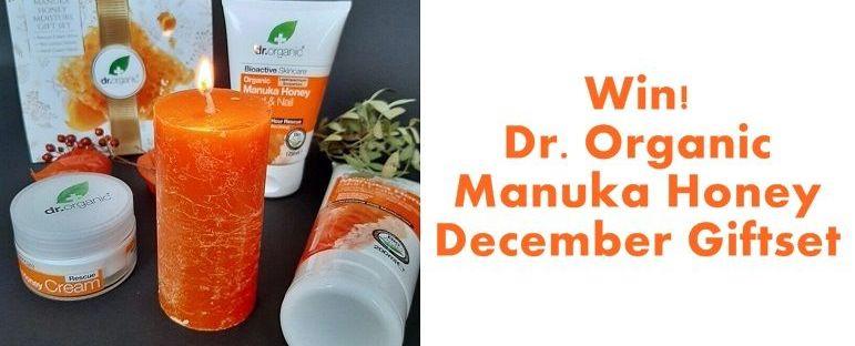Win! Dr. Organic Manuka Honey December Giftset 71 dr. organic Win! Dr. Organic Manuka Honey December Giftset Win!