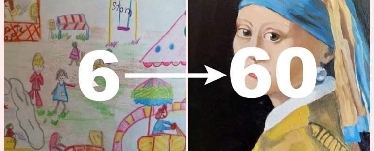 Al mijn Tekeningen en Schilderijen, vanaf Kleuterschool tot Nu! (En dat zijn er heel veel...) 55 tekenigen Al mijn Tekeningen en Schilderijen, vanaf Kleuterschool tot Nu! (En dat zijn er heel veel...)