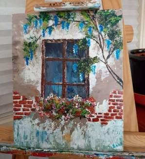 raam schilderij