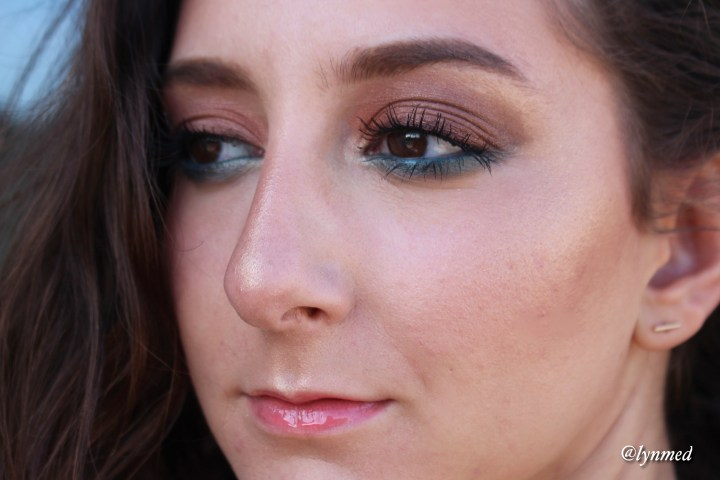 Estée-Lauder-Bronze-Goddess-Heat-Wave-Makeup-look