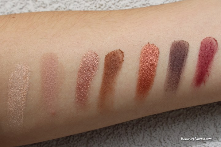 Marc Jacobs scandalust Eye-Conic palette swatch