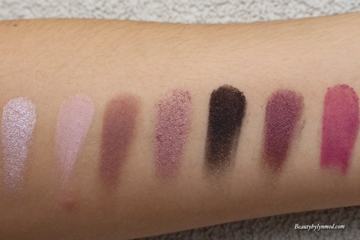 Marc Jacobs Provocouture Eye-Conic palette Swatch