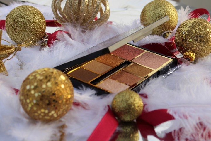 Guerlain Gold palette review