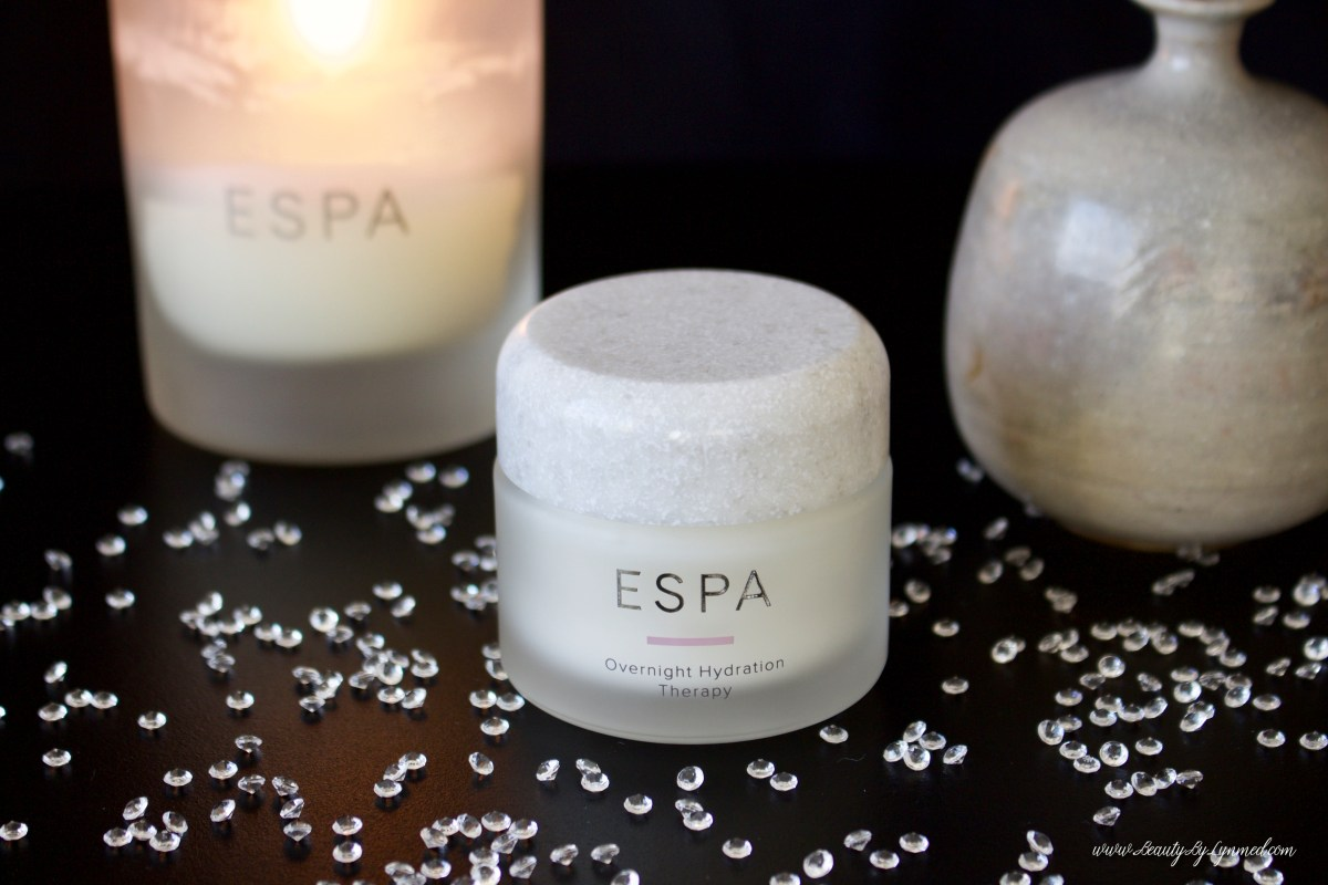 The ultimate at home Spa Experience with ESPA Overnight Hydration Therapy