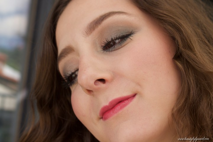 Estée Lauder bronze Goddess Makeup look