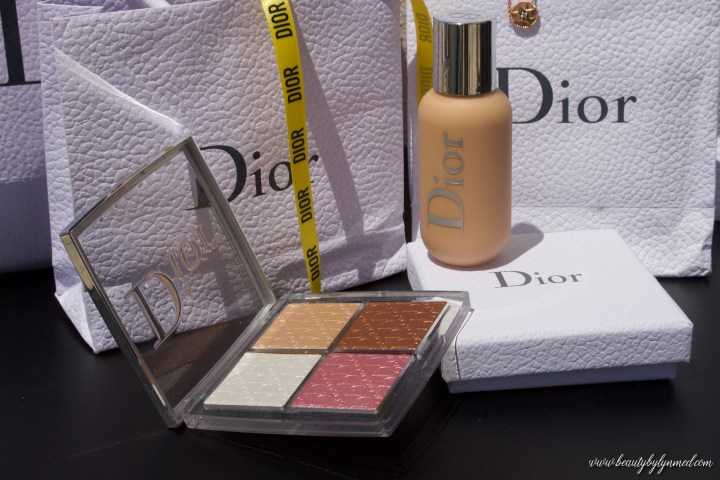 Dior Backstage Makeup look