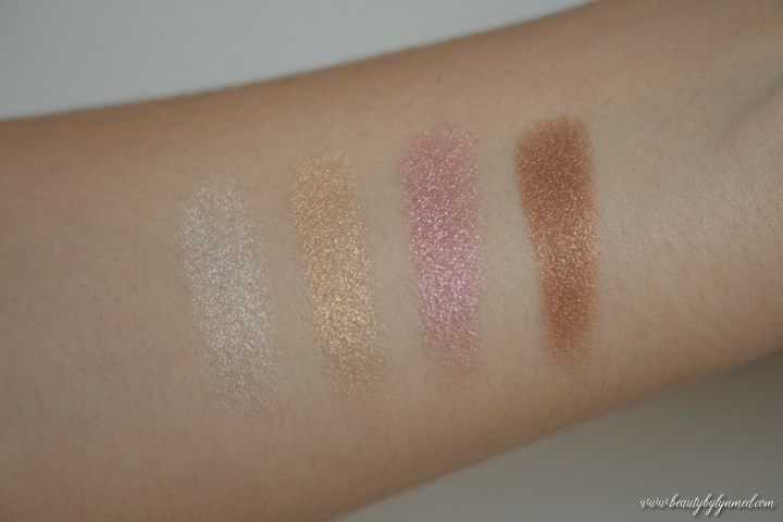 Dior Backstage Glow Palette swatches