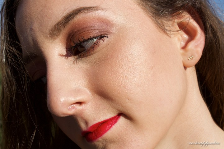 Marc Jacobs Coconut Collection Makeup Look