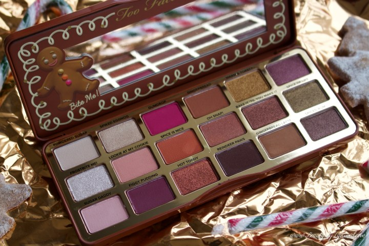 Too Faced Gingerbread Spice Palette – Ma palette coup de coeur 2018